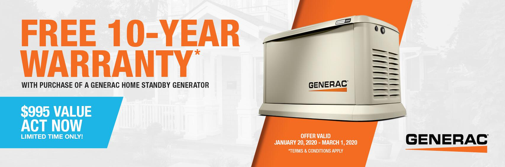 Homestandby Generator Deal | Warranty Offer | Generac Dealer | ELKHORN, WI